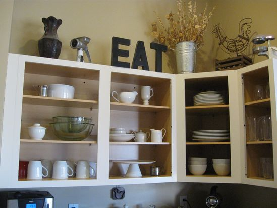 open shelf kitchen cabinets - Bing Images