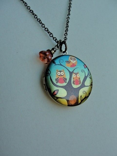 #owl #locket #jewelry