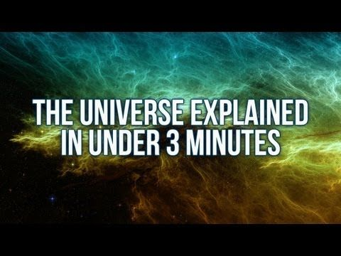 The Universe Explained in Under 3 Minutes - YouTube