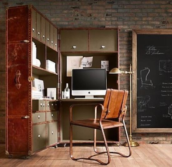 28 Crazy Steampunk Home Office Designs