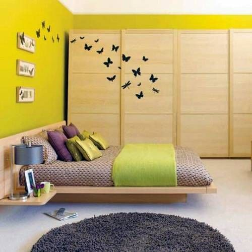 awesome butterfly wall bedroom decor