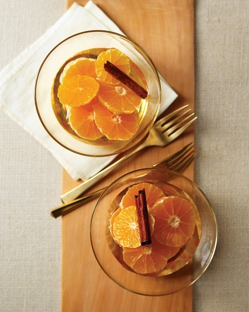 Clementines in Cinnamon Syrup - Perfect winter treat for breakfast or dessert.