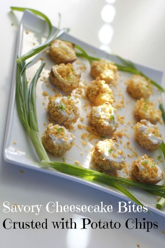 Savory Cheesecake Bites, Perfect for the Party