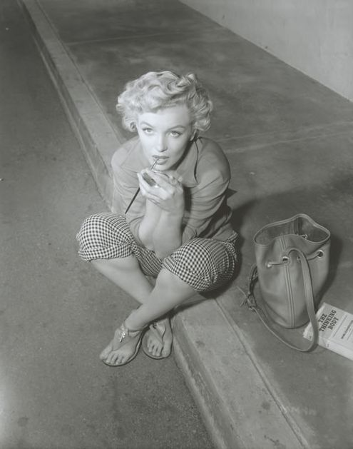 Marilyn Monroe photographed by Ernest Bachrach in 1952