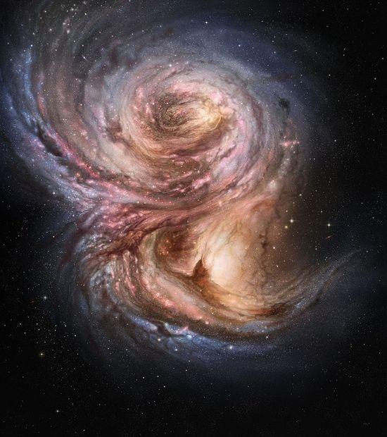 Una galaxia muy, muy #universe