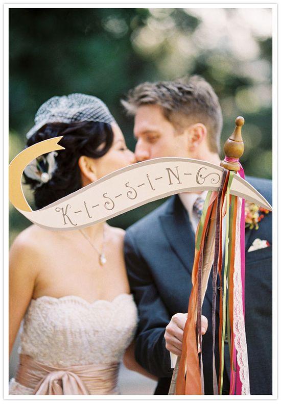 whimsical wedding signage