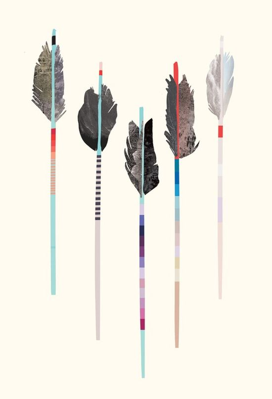 Julia Kostreva Arrow Poster. Love.