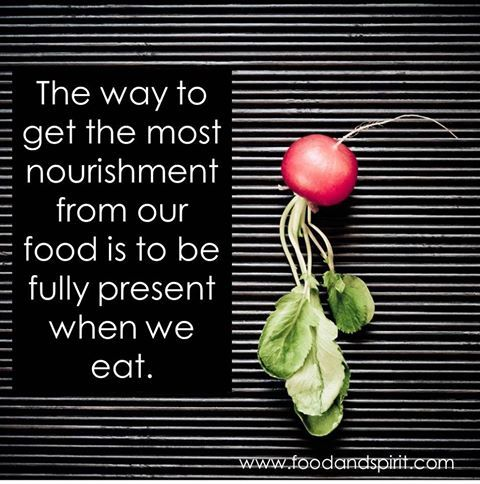 nourishment from food