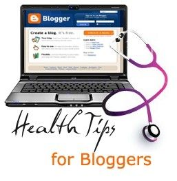 5 Important Health Tips For Busy Bloggers