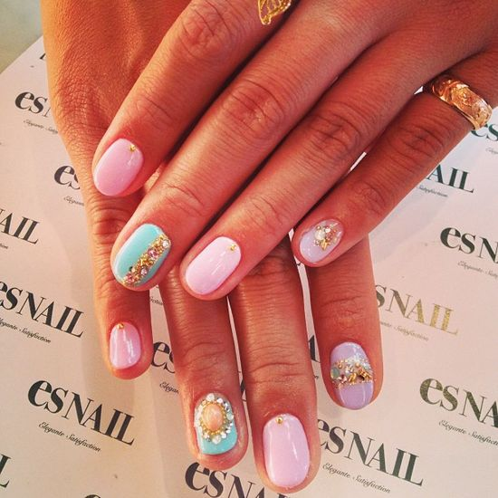 esnail_la Pastel nails