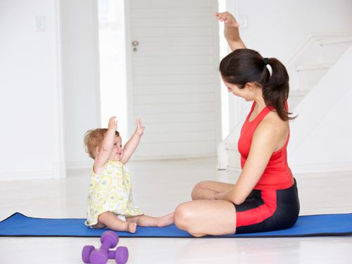 5 Must-Do #Exercises for Moms #health #fitness