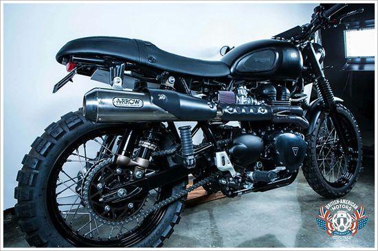 2012 Triumph Scrambler - British American Motors - Pipeburn - Purveyors of Classic Motorcycles, Cafe Racers & Custom motorbikes