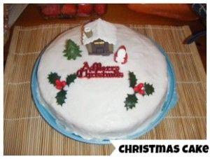 Meatless Monday: Christmas Cake Recipe