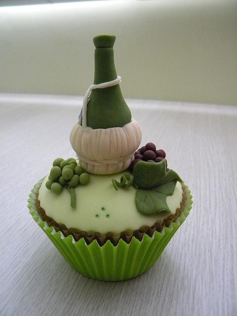 Cute cupcake.