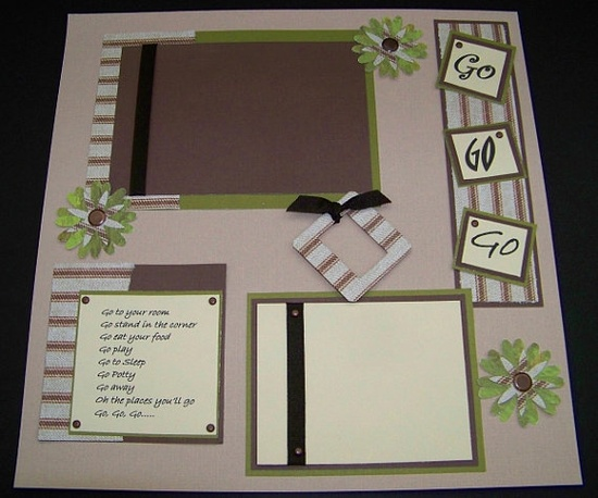Scrapbook Idea~