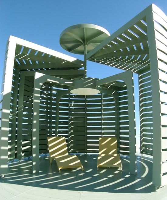 Spiral Garden Pavilion