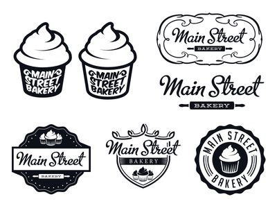 Bakery Logo Options