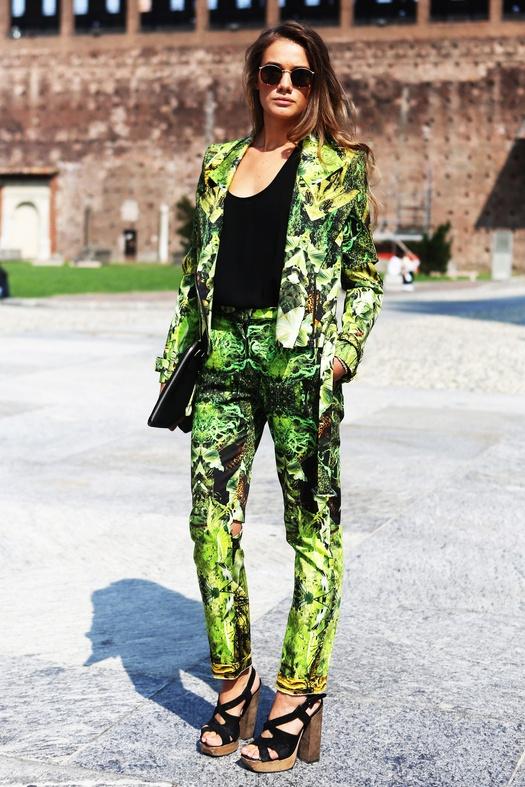 Milan Streetstyle #fashionweek #fashion