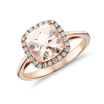 Brides: Pink Engagement Rings: Get the Look