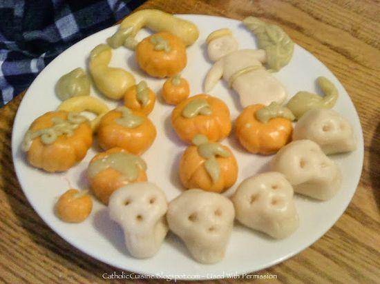 Catholic Cuisine: Candy Corn Saints