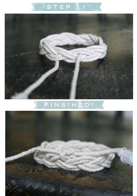 DIY: Sailor's Knot Bracelet
