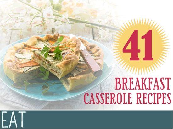 Make School Mornings Easier: 41 Breakfast Casserole Recipes