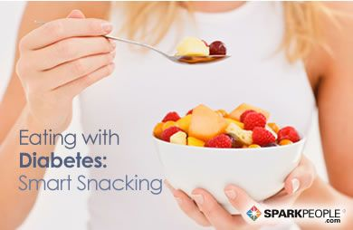Eating with Diabetes: Smart Snacking via @SparkPeople