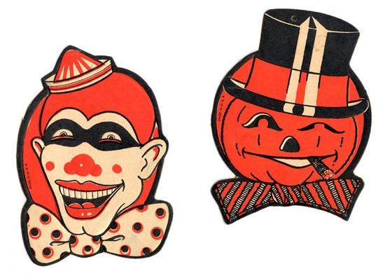 Vintage Halloween Die Cuts