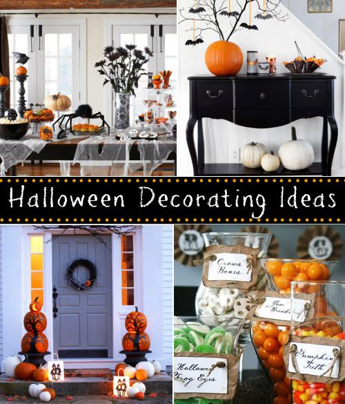 Halloween Decorating Ideas.