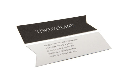 like this idea for new business cards