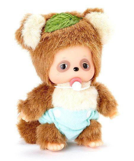 Raccoon Friend Bebichhichi Plush Toy