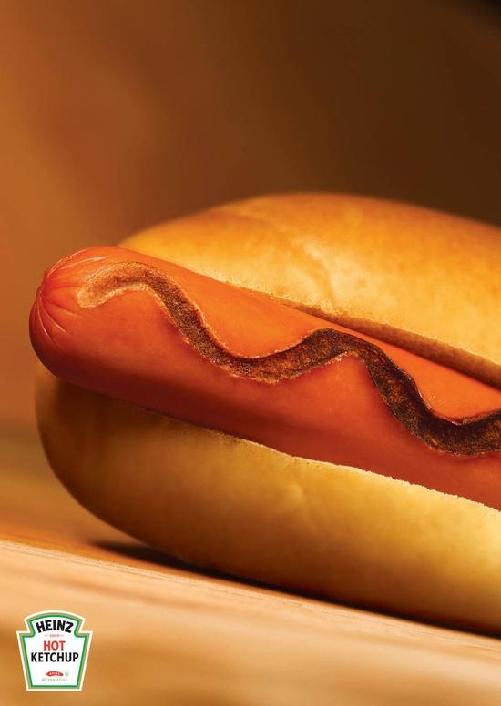 Heinz Hot Ketchup: Burn repinned by www.BlickeDeeler.de