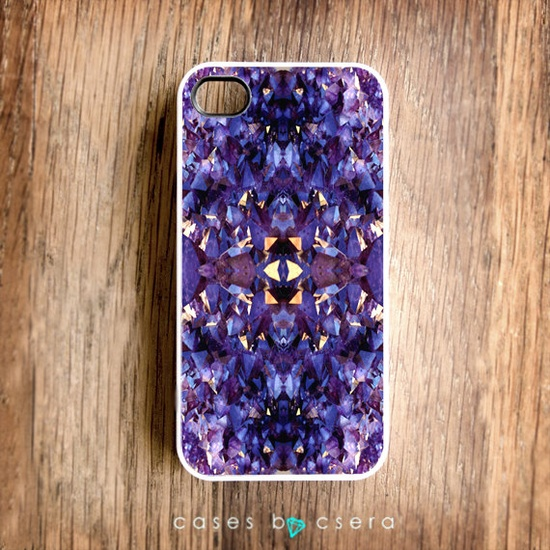 iPhone 5 Cases Coming soon, Geometric iPhone Case, Plastic iPhone Case, Crystal iPhone 4 or 4S, Case, Accessories for iPhone By Csera. $17.99, via Etsy.
