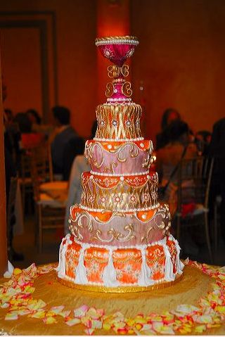 My Wedding Cake, via Flickr.