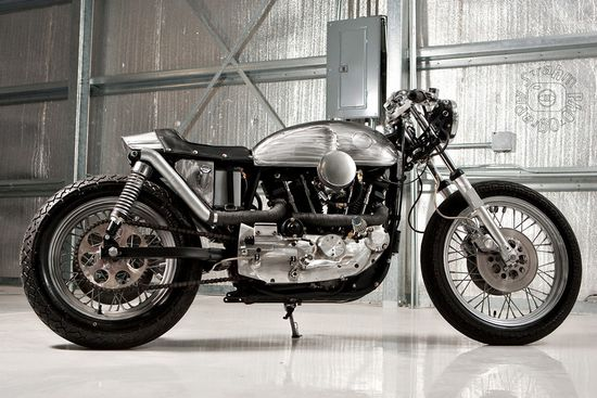 DP Customs 1979 Harley Cafe Racer