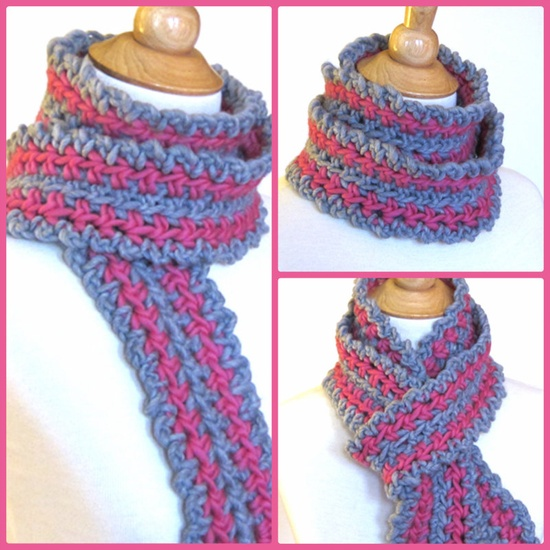 Fast Easy #Crochet Scarf #Pattern - Inexpensive and fun to make in many color variations. #crochet_patterns