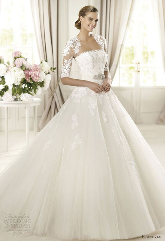 pronovias 2013 wedding dresses domingo