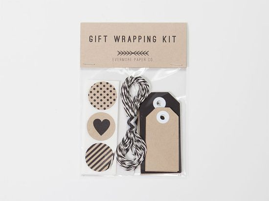Gift Wrapping Kit - Evermore Paper Co.