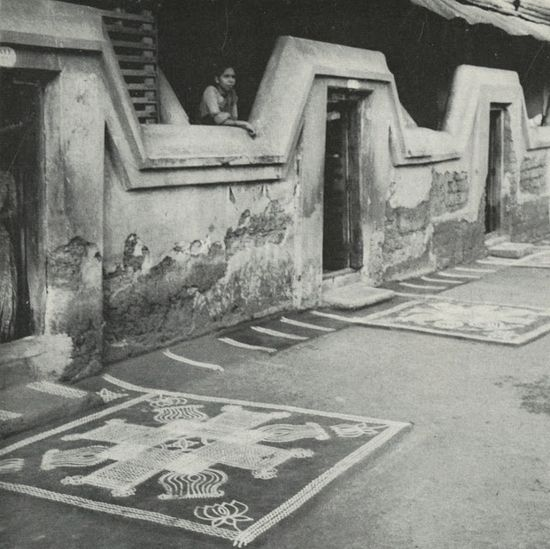 """""""Ritual Wall and Floor Decoration in India"""" by Oppi Untracht"""