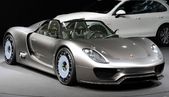 Porsche 918 Spyder Sport Car