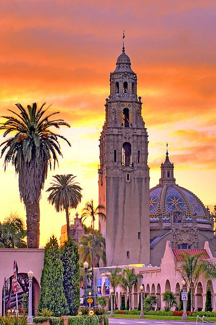 Balboa Park, San Diego, California. One pinner said: My dad lives two minutes from here and I always ride my bike here whenever I'm out there ?