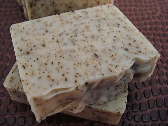 Handcrafted Peppermint Soap #soap #handmade