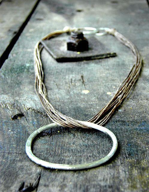 just circle pendant. by fey papanikou.