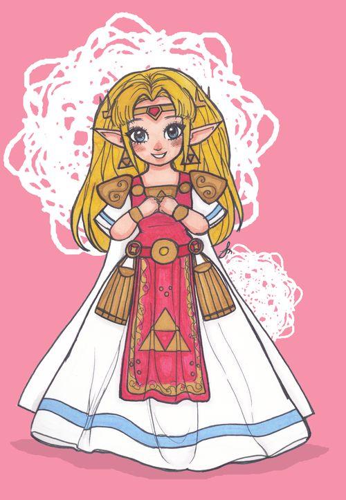 Hair style Zelda