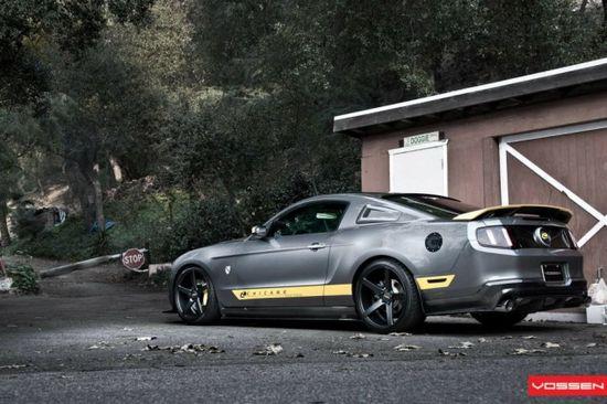 2013 Sterling Grey Mustang