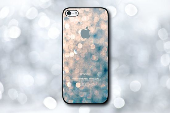 iPhone 5S Case - Violet Glitter #iPhone #Accessoires #iPhone5s #5S #Cover #Case