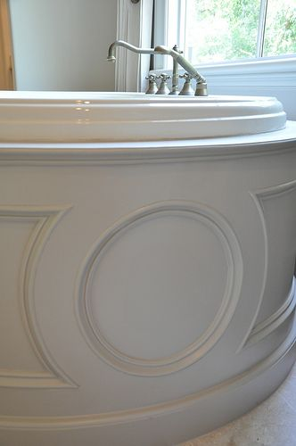 Bathtub surround...beautiful