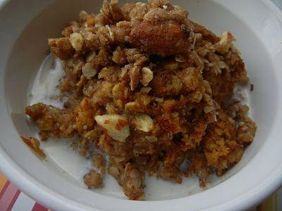 Pumpkin Pie Oatmeal--healthy & hearty..yet it tastes like pumpkin pie for breakfast.  SO delicious & easy!  (Deals to Meals)