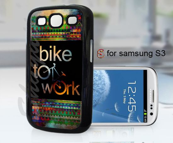 bike to work - design case for samsung