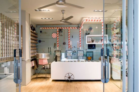Rocambolesc Ice Cream Parlour Interior Design4